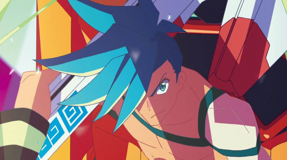 Galo has robot armor in Promare