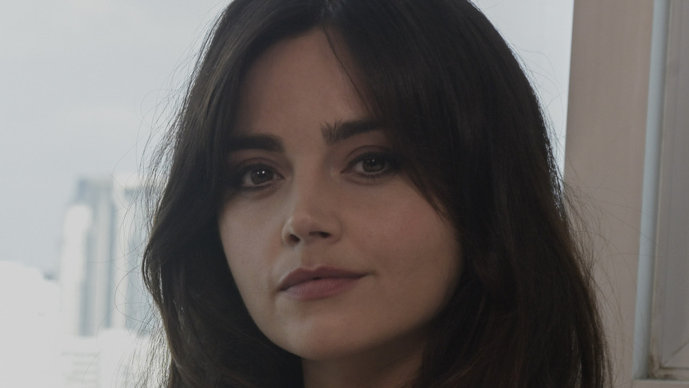 Jenna Coleman neutral expression
