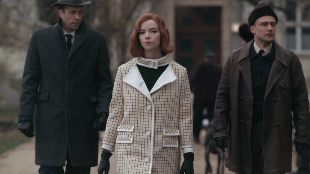 Anya Taylor-Joy as Beth Harmon on The Queen's Gambit