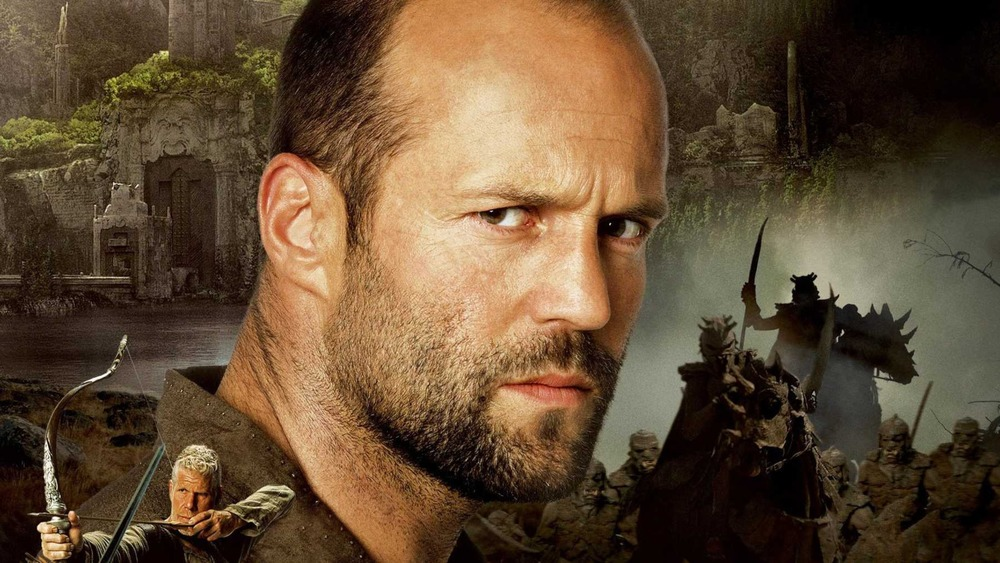 Jason Statham glowers on In the Name of the King poster