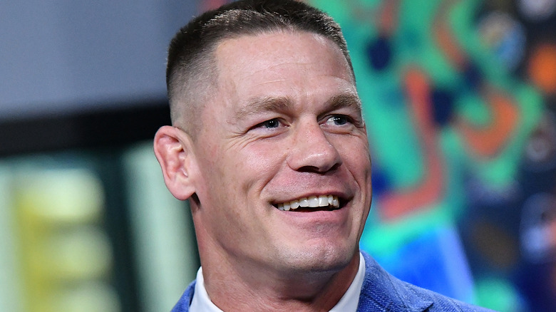 John Cena smiling
