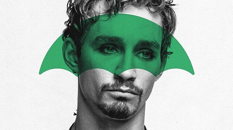 Robert Sheehan as Klaus on The Umbrella Academy promo poster