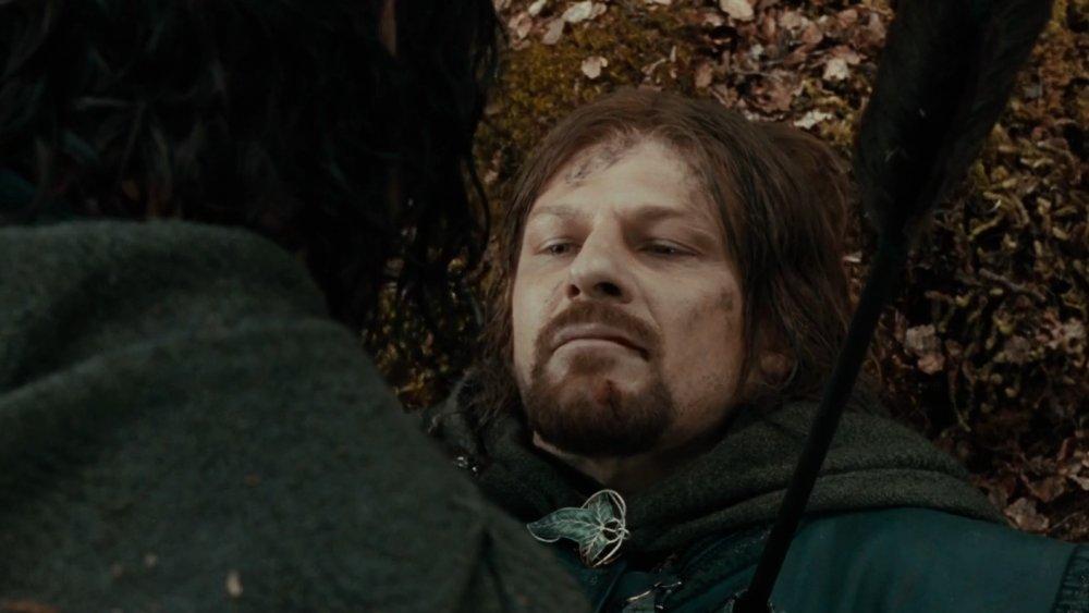Sean Bean as Boromir, Lord of the Rings