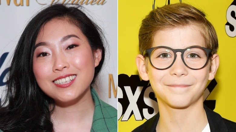 Awkwafina/Jacob Tremblay