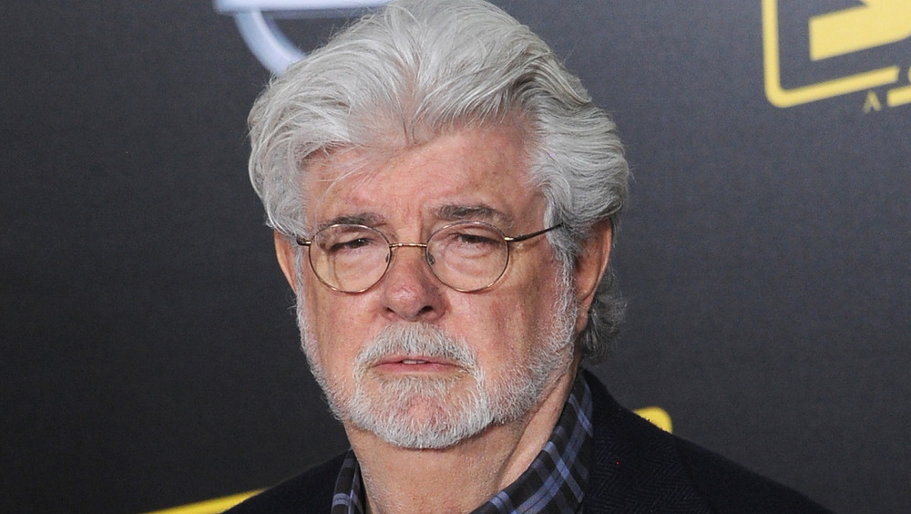 George Lucas at the Solo: A Star Wars Story premiere