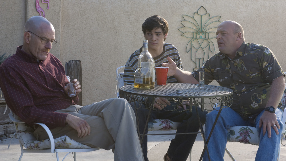 Breaking Bad cast drinking alcohol
