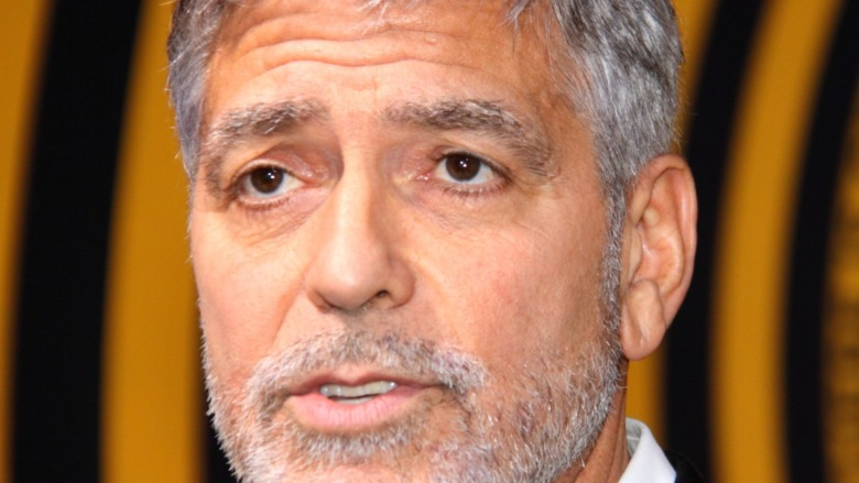 George Clooney brown eyes