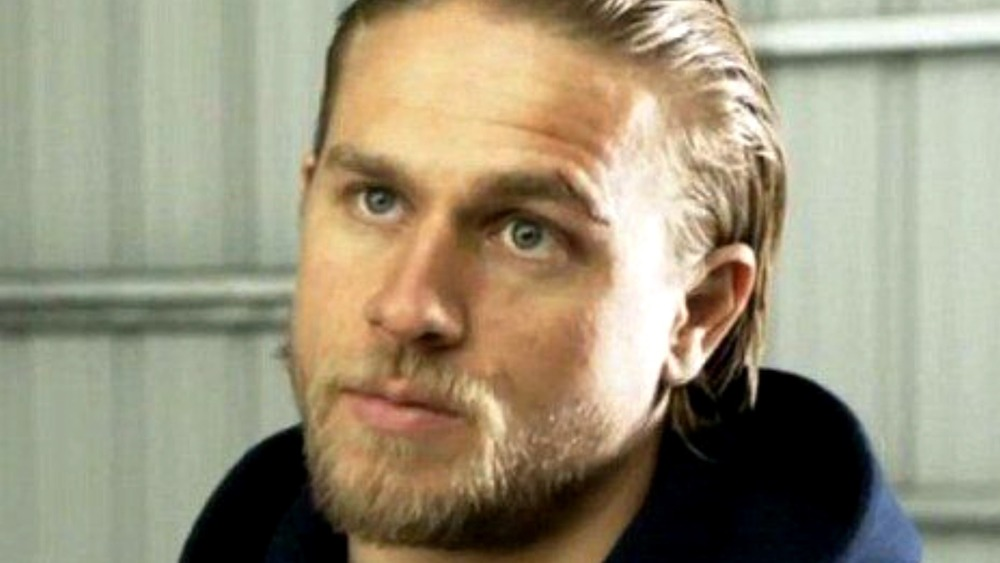 Charlie Hunnam as Jax Teller in Sons of Anarchy