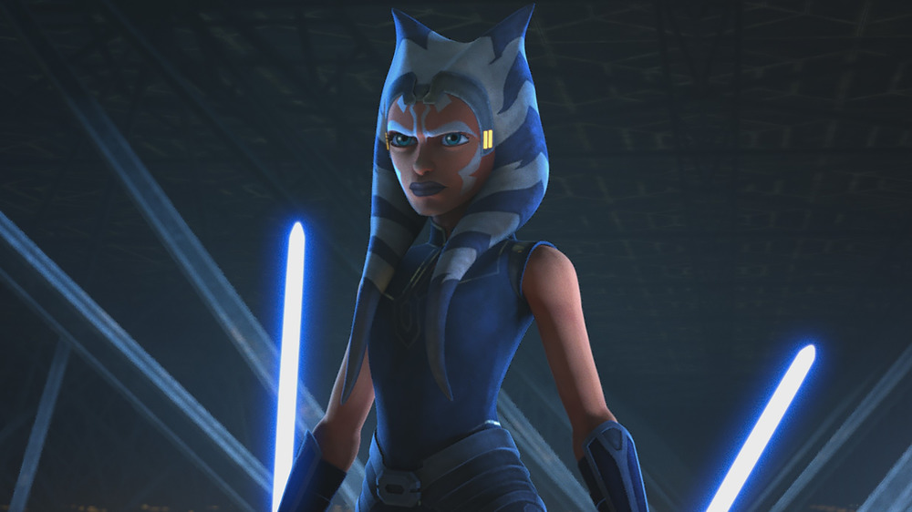 Ahsoka Tano in Star Wars: The Clone Wars animated series