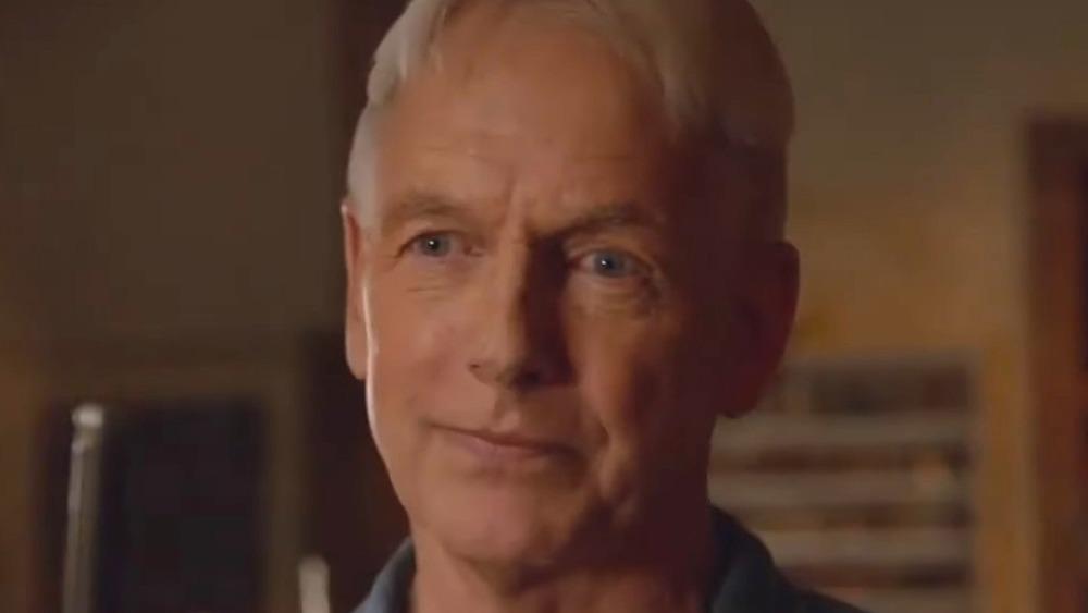 NCIS Gibbs Face Smirk