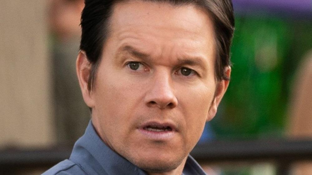 Mark Wahlberg looking perturbed