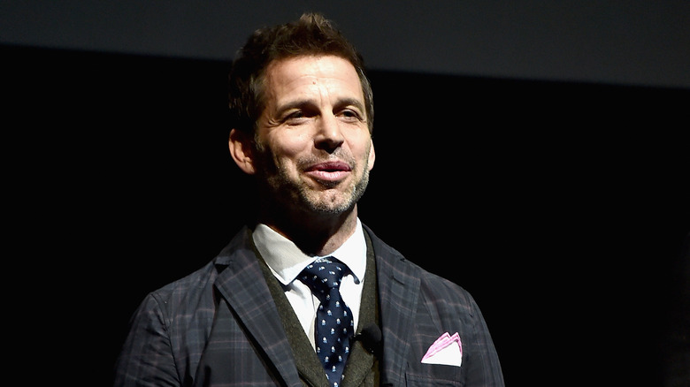 Zack Snyder speaking