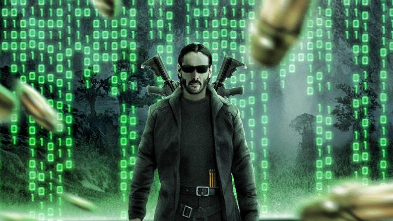 The Matrix 4 shoot caused property damage
