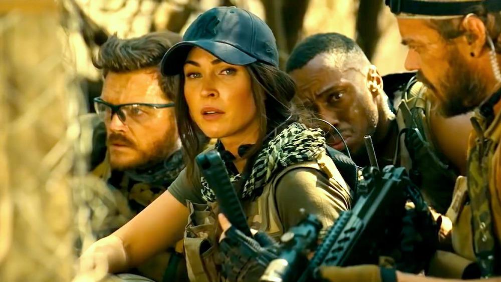 Megan Fox leads a group of mercenaries in Rogue