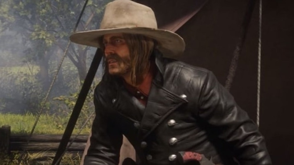 Micah leather jacket