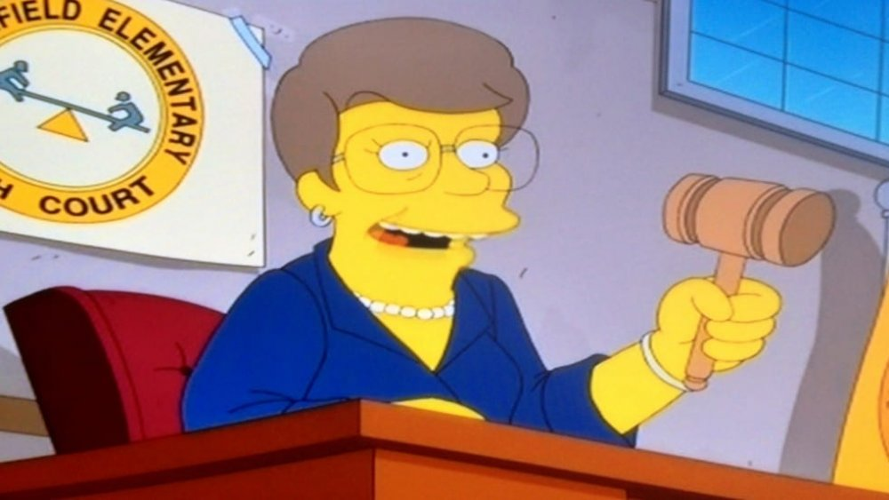 As Aparições na história dos Simpsons Mais Bizarras 12