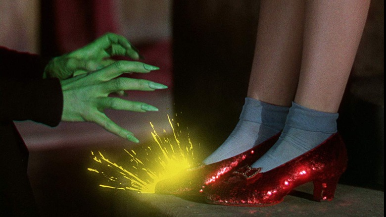 Wizard of Oz - Witch and shoes
