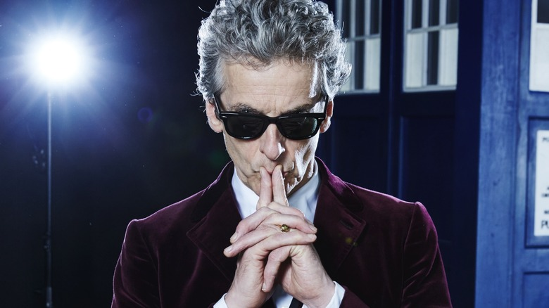 Peter Capaldi Doctor Who promo image