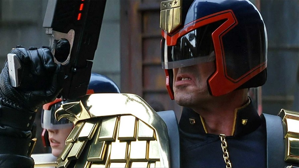 Sylvester Stallone as Judge Dredd