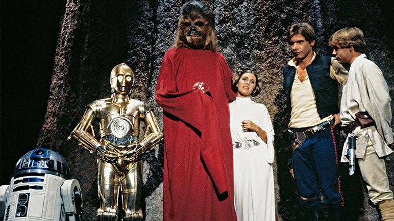 Scene from the Star Wars Holiday Special