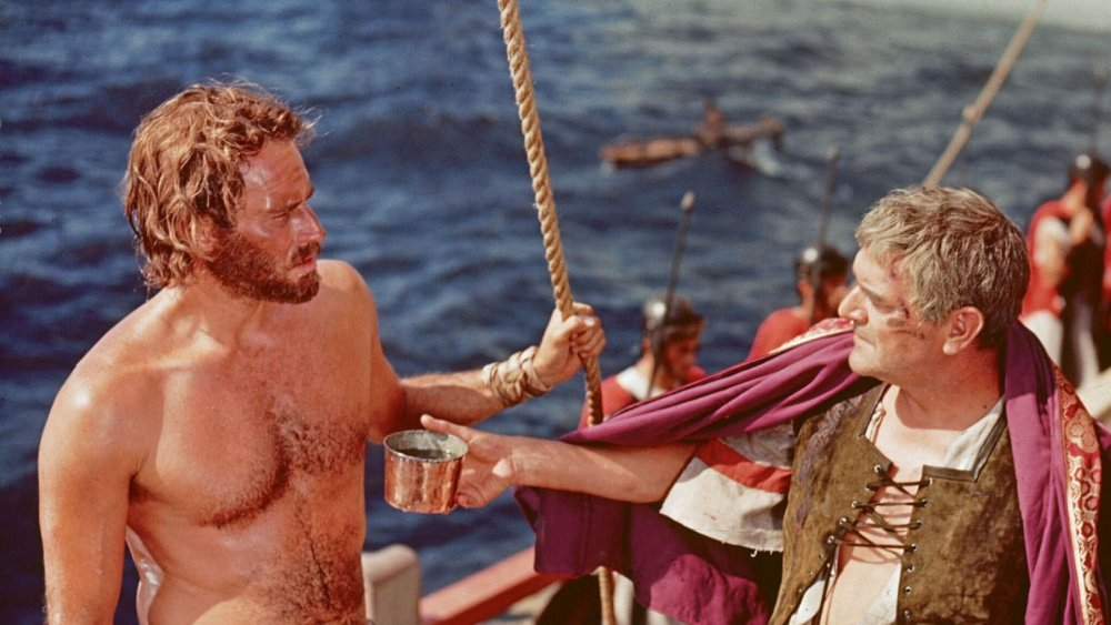 Charlton Heston in a scene from Ben-Hur