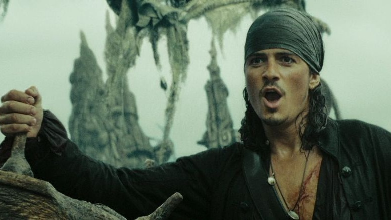 Orlando Bloom in Pirates of the Caribbean