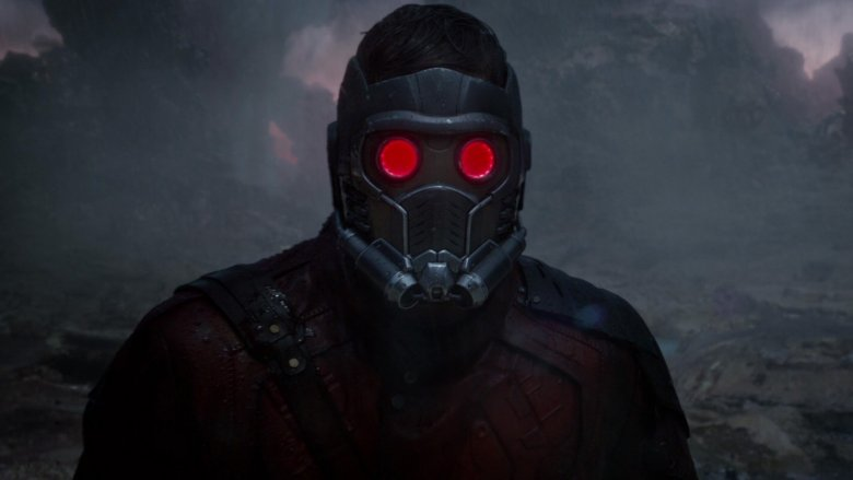 Quill's mask