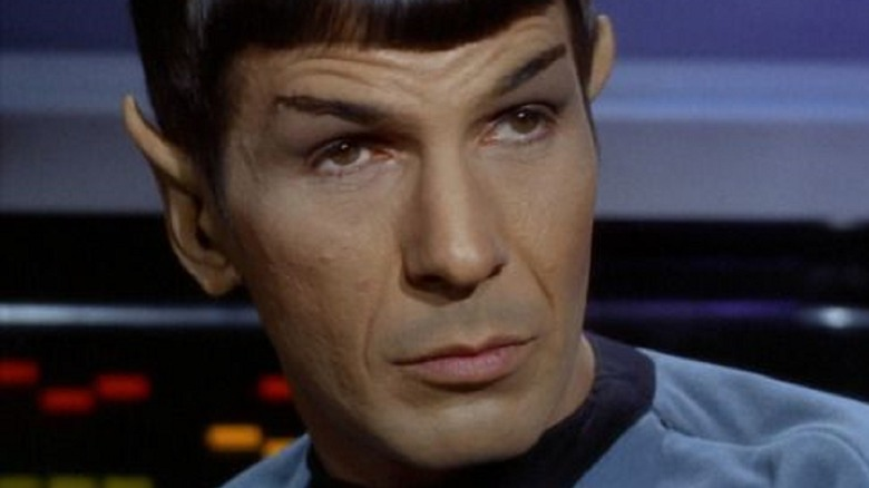 Mr. Spock looking skeptical