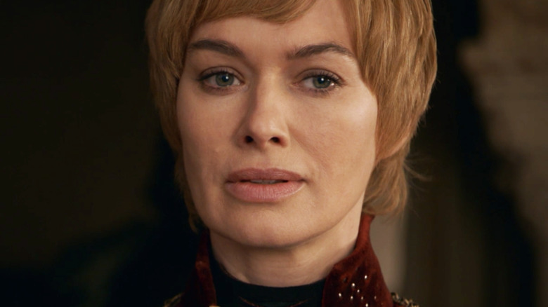 Lena Headey as Cersei Lannister on Game of Thrones season 8 episode 5