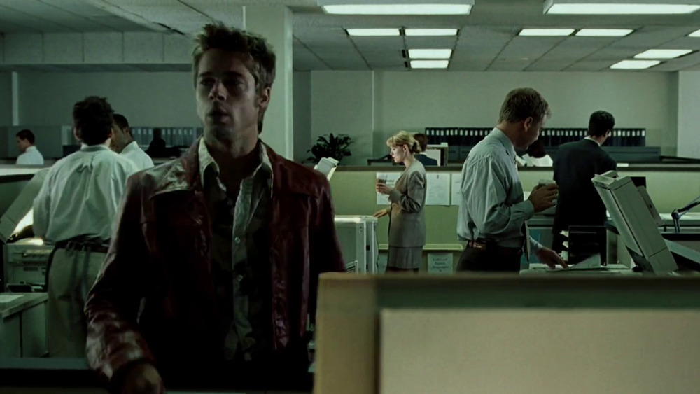 Tyler Durden appears