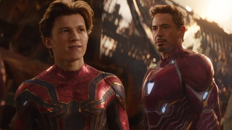 Spider-Man and Iron Man in Avengers