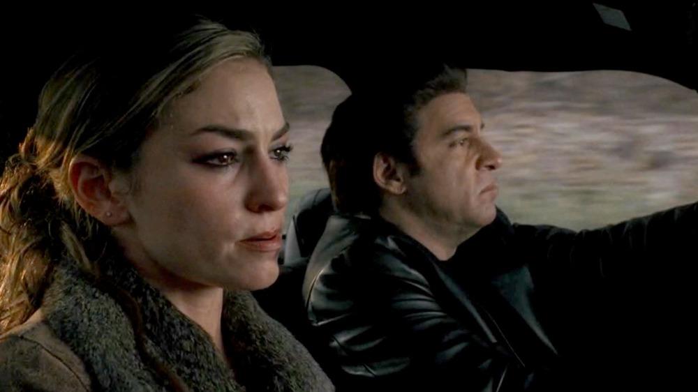 Drea de Matteo as Adriana La Cerva on The Sopranos