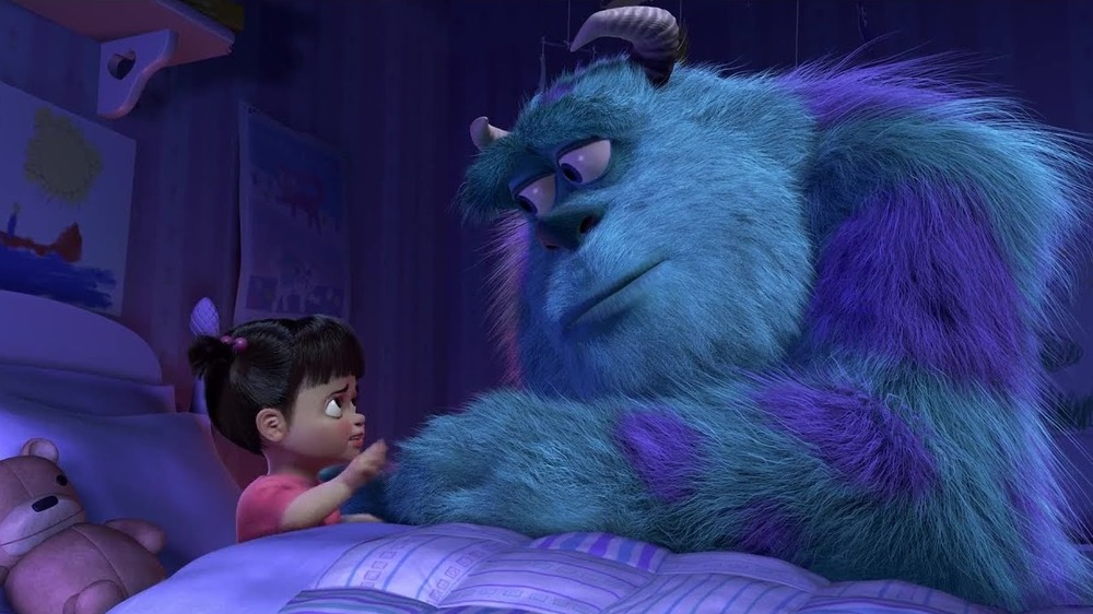 Sully saying bye to Boo
