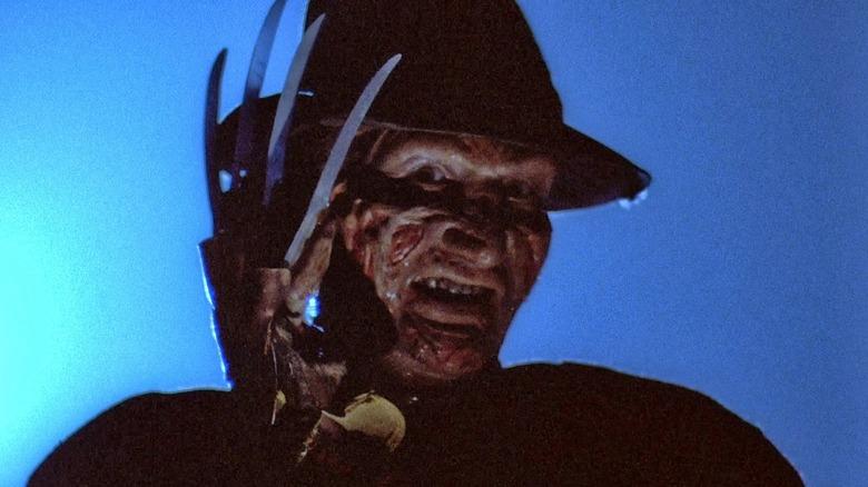 Freddy Kruger in A Nightmare on Elm Street