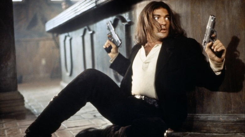 Antonio Banderas as El Mariachi in Desperado.