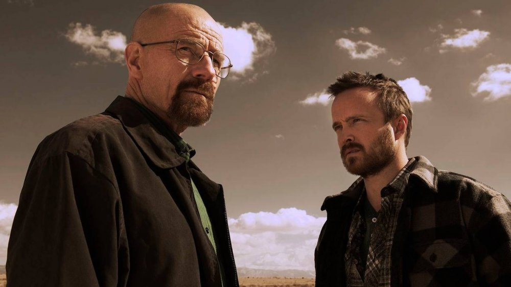 Bryan Cranston and Aaron Paul in Breaking Bad promo materials