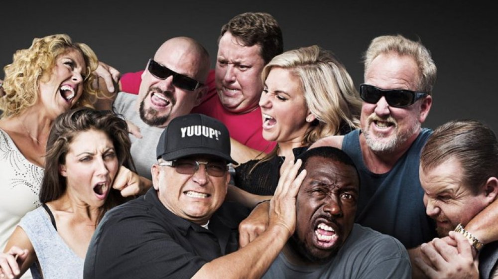 The cast of the popular reality show Storage Wars
