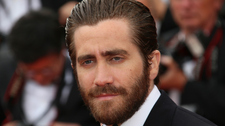 Jake Gyllenhaal at a press event