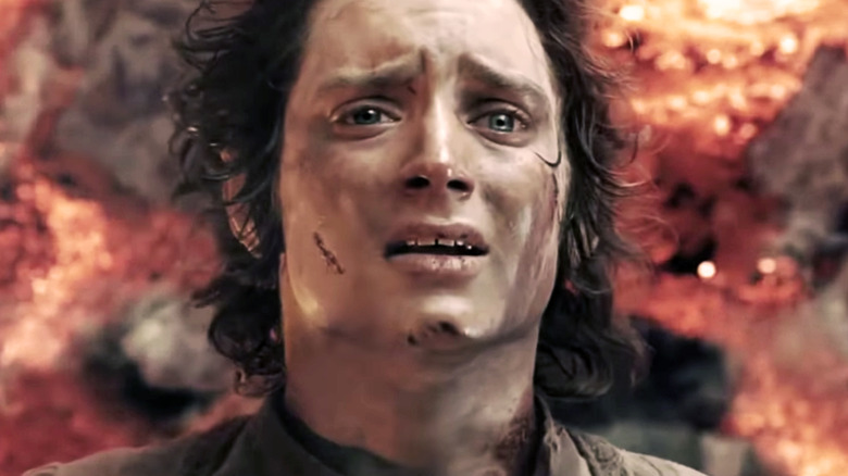 Frodo in The Lord of the Rings: The Two Towers
