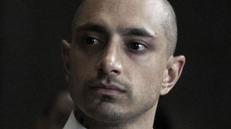 Riz Ahmed shaved head