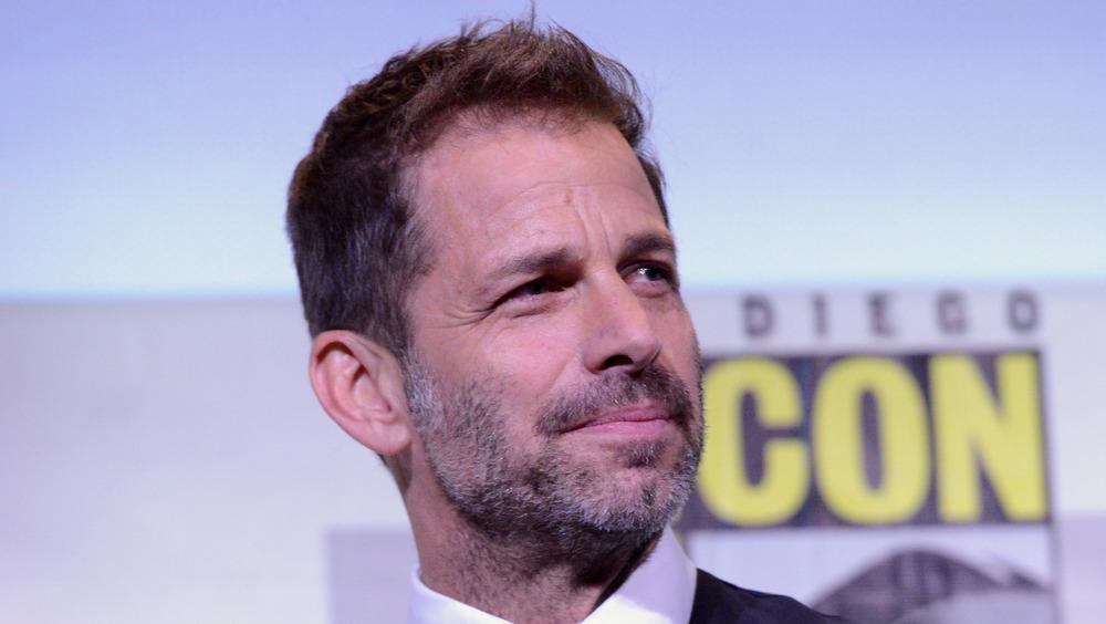 Zack Snyder at San Diego Comic Con
