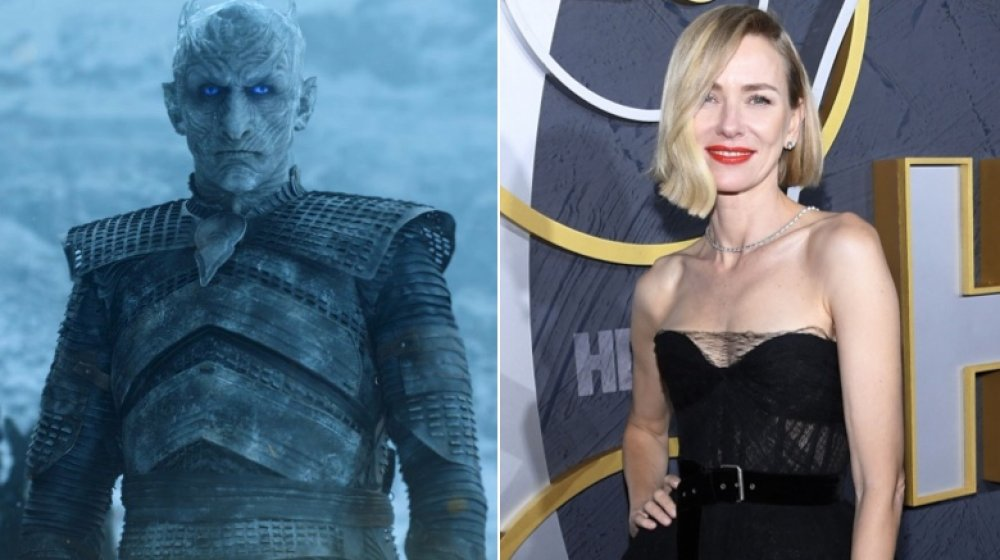 Naomi Watts and The Night King from Game of Thrones