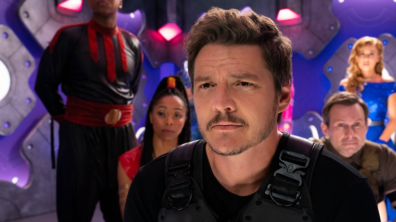 Pedro Pascal plays a superhero in Netflix's We Can Be Heroes