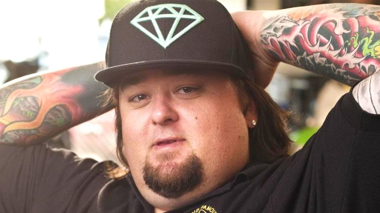 Chumlee with hat