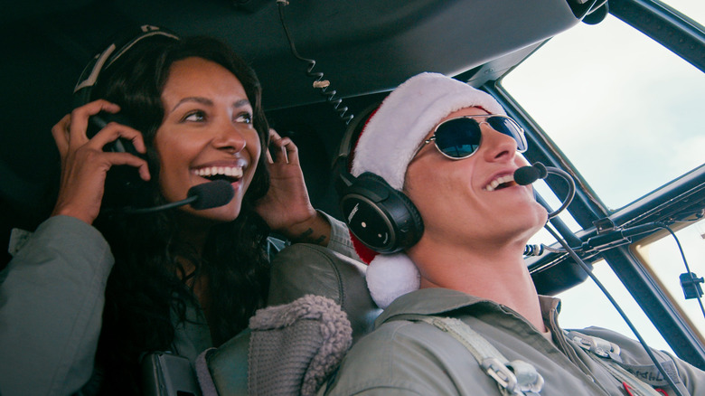 Kat Graham and Alexander Ludwig star in Netflix's Operation Christmas Drop