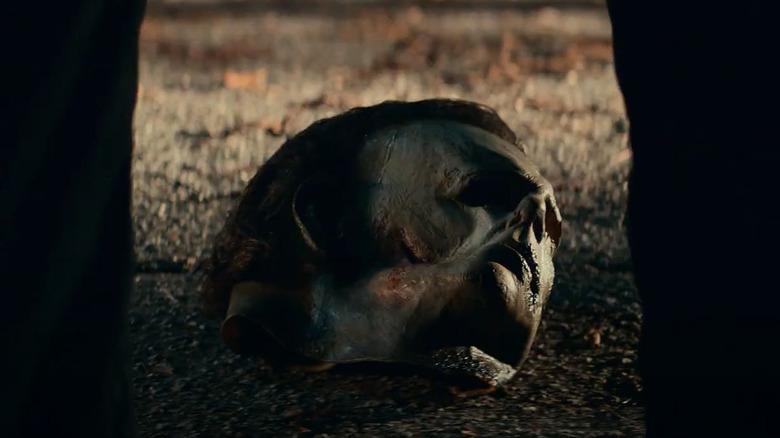 Michael Myers mask, as seen in Halloween Kills