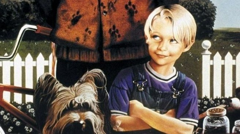 The poster for Dennis the Menace