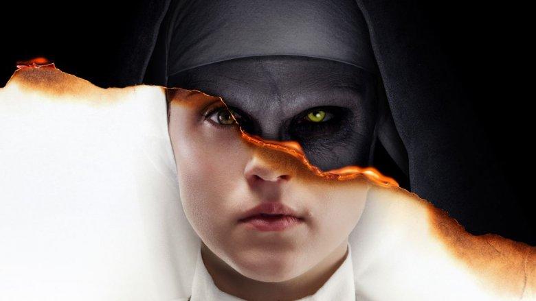 The Nun light/dark poster
