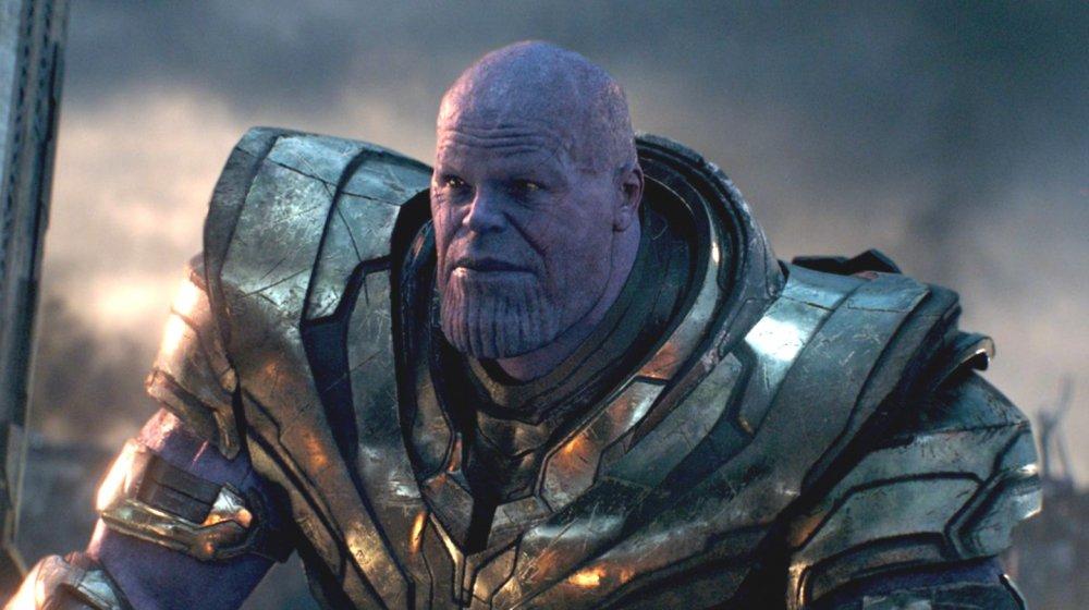 Josh Brolin as Thanos in Avengers: Endgame