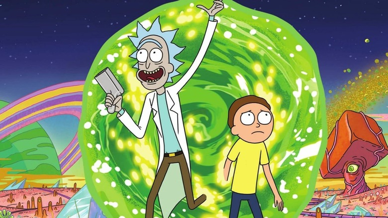 Rick and Morty promo image